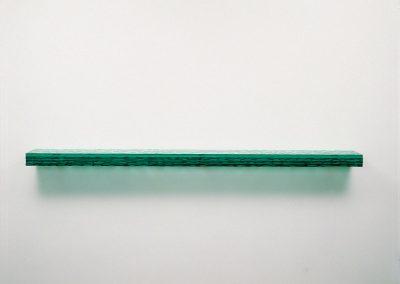 Serie Latitudes, nº 11 (cristal horizontal), 2006.