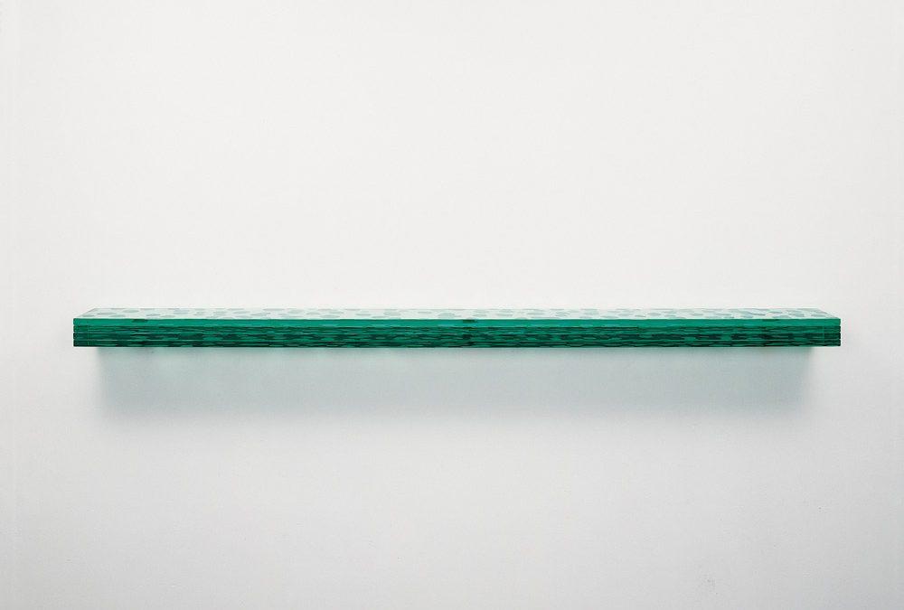 Serie Latitudes, nº 12 (cristal horizontal), 2006.