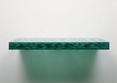 Serie Latitudes, nº 14 (cristal horizontal), 2006.